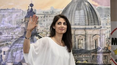 An anti-establishment newcomer, capitalising on anger over political corruption and deteriorating city services, Virginia Raggi trounced Prime Minister Matteo Renzi's candidate in Rome's mayoral run-off on Sunday.
