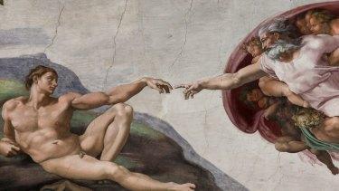Sistine Chapel - Hand of God