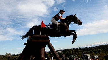 The Australian Sports Commission's Winning Edge program only funds eventing, not showjumping or dressage.