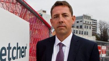 Fletcher Building CEO Mark Adamson says the drop in construction should be gradual.