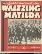 <i>Waltzing Matilda</i> has been adopted as an unofficial anthem by Australians.