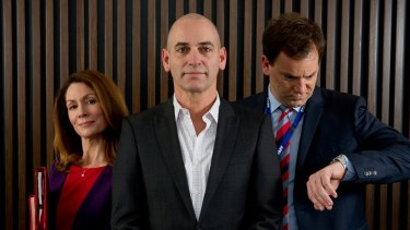Working Dog's Utopia stars Kitty Flanagan, Rob Sitch and Anthony Lehmann.