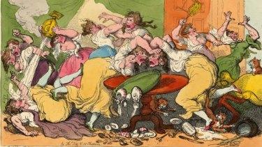 Carl H. Pforzheimer, Breaking up of the Blue Stocking Club (1815)