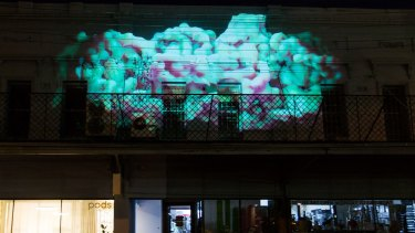 Another projection at the 2017 festival.