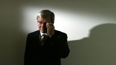 Kevin Rudd as Shadow spokesperson for Foriegn Affairs in 2003.