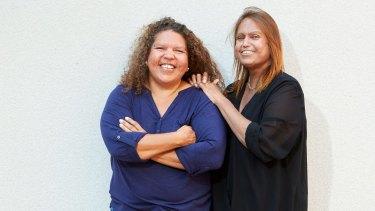 Rose and Karina Lester are the daughters of Yankunytjatjara elder Yami Lester.