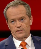 'What I'm not going to play is gotcha politics' ... Opposition Leader Bill Shorten was in a combative mood on Q&A.