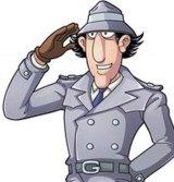 Inspector Gadget doffs his hat