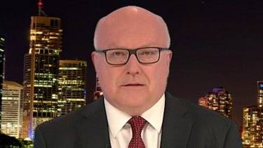 Attorney-General George Brandis on 7.30 on Tuesday.