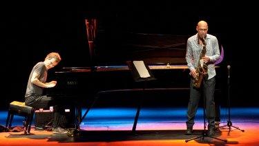 Superb duo: Brad Mehldau and Joshua Redman.