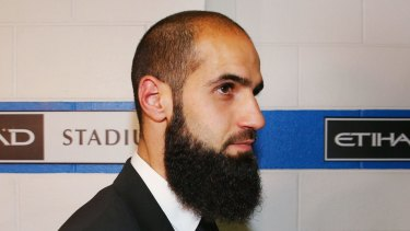 Richmond's Bachar Houli has come to the defence of Ali Fahour.