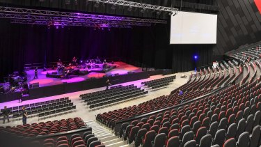 Sydneysiders will be able to see inside the new International Convention Centre on Saturday.