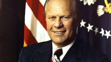 US PRESIDENT Gerald R. Ford  official Presidential photo.