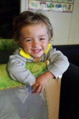 Toddler Roman.
