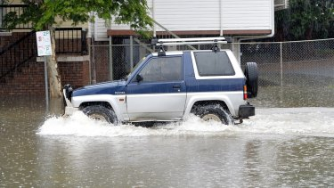 One in four drivers admit to having driven through floodwater.