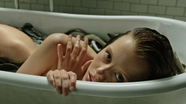 "Mia Goth is a ""special case"" in <I>A Cure For Wellness</I>."