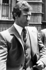Paul Higgins photographed in 1977.