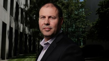 Vouching for electric cars: Minister for Environment and Energy Josh Frydenberg.