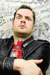 Comedian Jim Jeffries has strayed a long way from the topics of guns and freedom.
