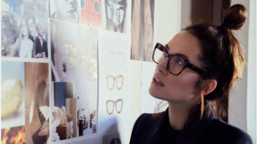 """""""Garments are technical but eyewear is another level of engineering,"""" Ellery says."""