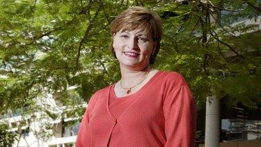 QSuper chief executive Rosemary Viglan.