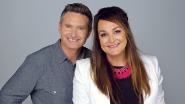 Comedian Dave Hughes says he was so shocked by the difference in pay between him and his long-time radio co-host Kate Langbroek