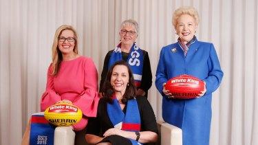 Leadership team: Board members (clockwise from left) Kylie Watson-Wheeler, Gaye Hamilton, Susan Alberti and Fiona McGauchie.
