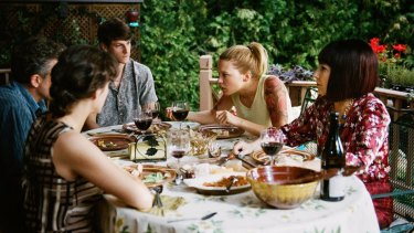 From left, Marion Cotillard, Vincent Cassel,  Gaspard Ulliel, Lea Seydoux and Nathalie Baye in Xavier Dolan's <i>It's Only the End of the World</i>.