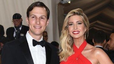 Jared Kushner and his wife, Ivanka Trump.