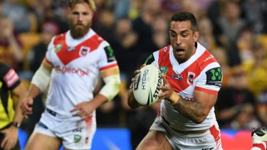 Huge year: Paul Vaughan is on the cusp of playing in a second rugby league World Cup.