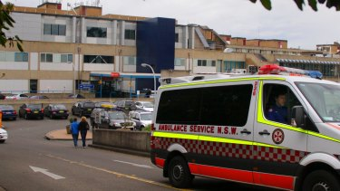 Westmead Hospital, the busiest in NSW.