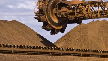 Iron ore prices have soared in the past four weeks.