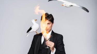 """Magician Adam Mada: cruise-ship entertainment is """"really high-stakes"""", he says. """"You are literally judged."""""""