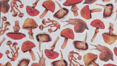 Forest Floor tea towel, $35.