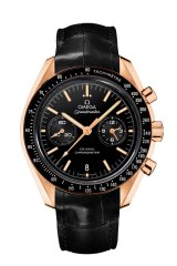 Omega Speedmaster Moonwatch Co-Axial Chronograph is Mr Grey's timepiece of choice.