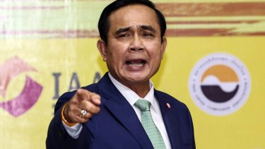 Assassination plot: Thailand's Prime Minister Prayuth Chan-Ocha.