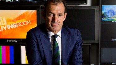 'Having a news bulletin in every market is very important': Network Ten CEO Paul Anderson.