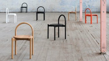 Halo chairs from Something Beginning With.