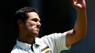 In the squad: Fast bowler Nathan Coulter-Nile has been selected for the Australian Test team.
