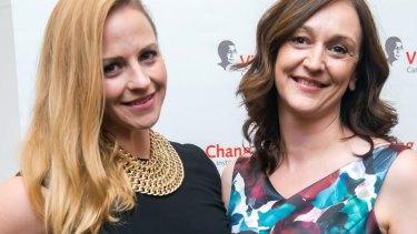 Amanda Rose and Maria Kovacic.
