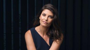 Australian actress Zoe Ventoura,