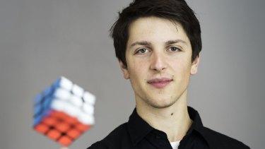 Feliks Zemdegs holds 12 world speedcubing titles.