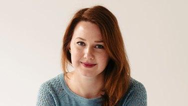 Author Hannah Kent.