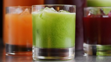 Vegetable juice is the go, researcher say..