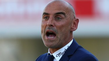 Confident: Victory boss Kevin Muscat.