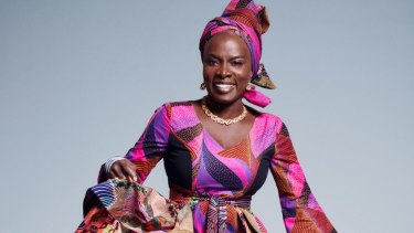 """Angelique Kidjo: """"I am using joy to bring people together, to spark action."""""""