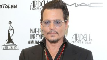 Selling assets: Johnny Depp.
