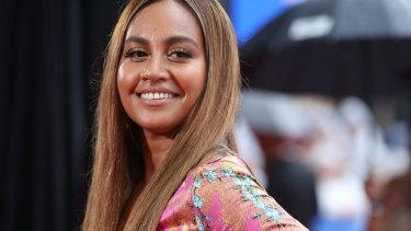 Jessica Mauboy is set to sing the national anthem ahead of Mundine's bout on Friday night.