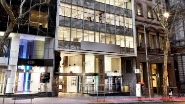 An office building at 406 Collins Street has been snapped up on a passing yield of 4.43 per cent.