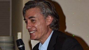 Joseph 'Pino' Acquaro at Parkville's Reggio Calabria Club.